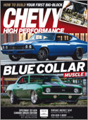 Subscribe to Chevy High Performance Magazine