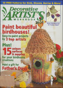 More Details about Decorative Artist's Workbook Magazine