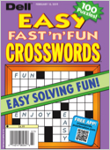 Subscribe to Easy Fast n Fun Crosswords Magazine
