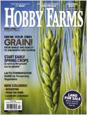 Subscribe to Hobby Farms Magazine
