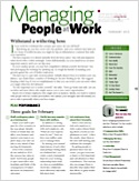 Subscribe to Managing People at Work Magazine