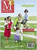 Subscribe to M the magazine for kansas city moms Magazine