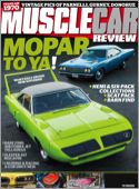 Best Price for Muscle Car Review Magazine Subscription