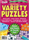 Subscribe to Official Variety Puzzle & Word Games Magazine