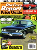 Subscribe to Old Cars Price Guide Magazine