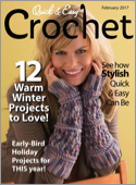 Subscribe to Quick & Easy Crochet Magazine