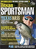Subscribe to Texas Sportsman (1 year) Magazine