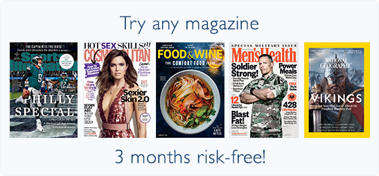 Discount Magazine Subscriptions Online at BlueDolphin